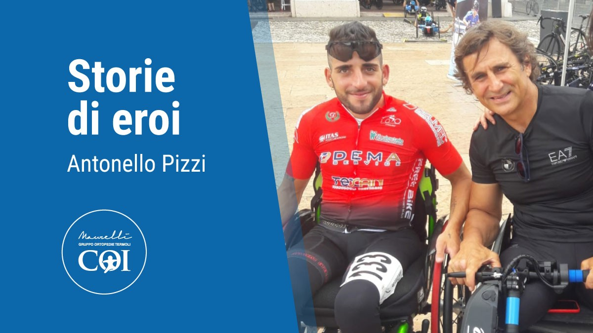 Antonello come Alex Zanardi, due destini che s'incrociano